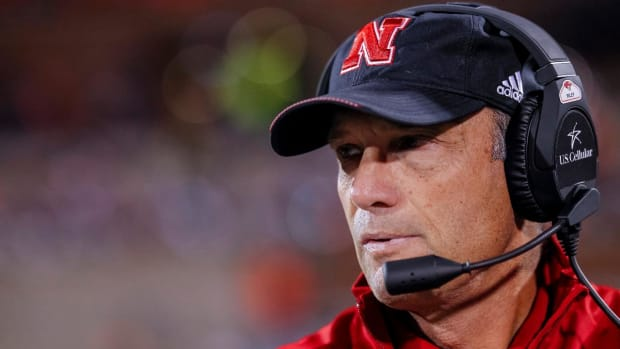 Mike Riley Fired by Nebraska After 4-8 Season--IMAGE