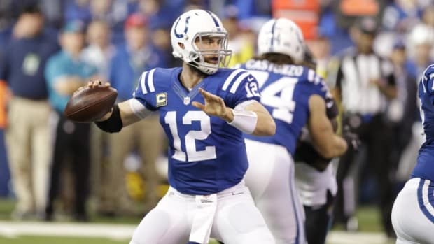 Colts Place Andrew Luck on IR, Ending His Season--IMAGE