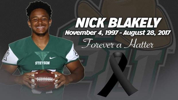 Stetson Football Player Collapses In Practice, Dies at 19 Years Old IMAGE