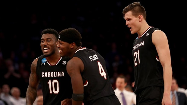 South Carolina heads to first Final Four--IMAGE