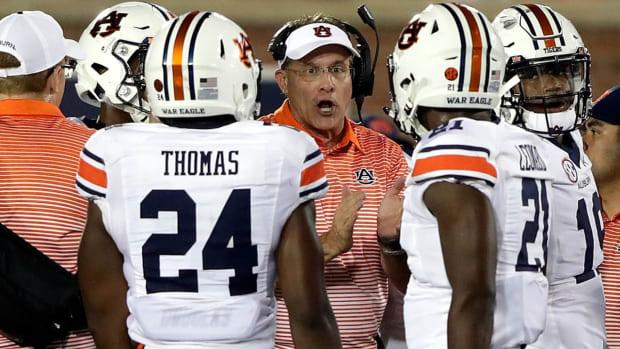 Sources: Arkansas Facing Pressure From Board to Make Gus Malzahn Next Head Coach - IMAGE