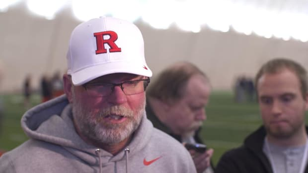 Rutgers assistant Jerry Kill hospitalized after 'minor seizure' - IMAGE