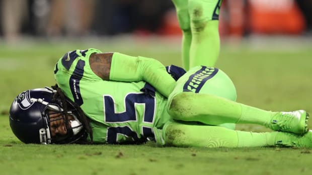 Seahawks CB Richard Sherman Out for Year With Ruptured Achilles - IMAGE