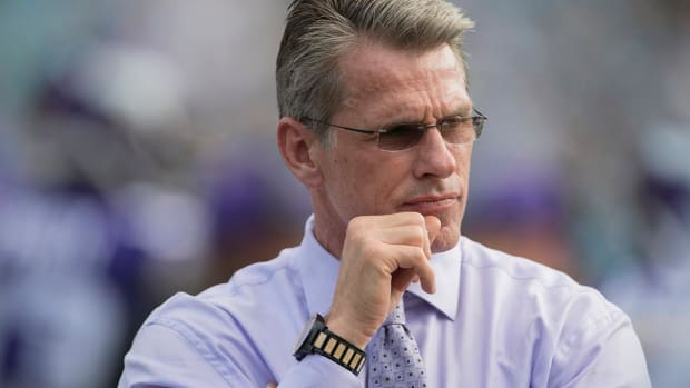 Vikings GM Spielman Unhappy With Fox Putting Greg Olsen on Broadcast--IMAGE