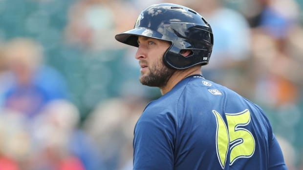 Tim Tebow hits walk-off home run for Mets class A affiliate, on 11-game hitting streak - IMAGE