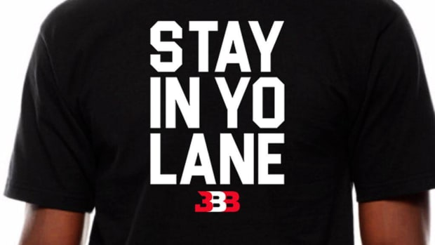 LaVar Ball selling 'Stay In Yo Lane' t-shirts--IMAGE