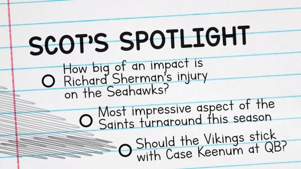 Former Redskins GM Scot McCloughan on Richard Sherman's Injury, Saints' Turnaround, Vikings' QB Situation - IMAGE