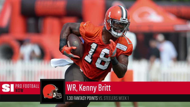 Jordan Howard, Kenny Britt's Fantasy Value Will Continue to Regress This Season - IMAGE