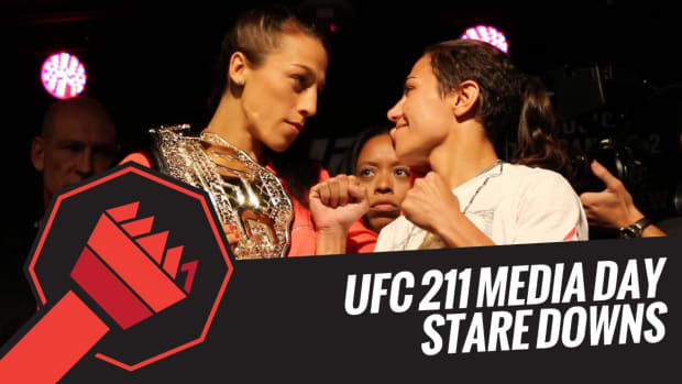 UFC 211 Media Day staredowns -- IMG