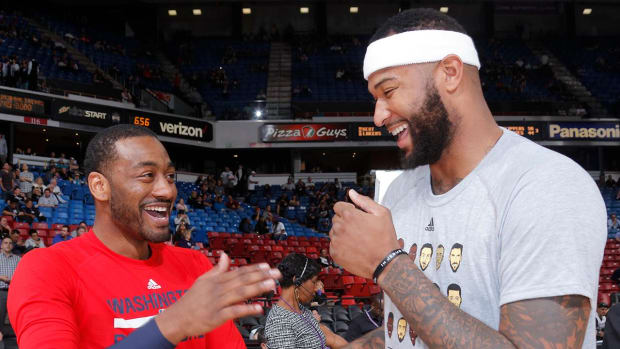 Will John Wall and DeMarcus Cousins team up in Washington? IMG