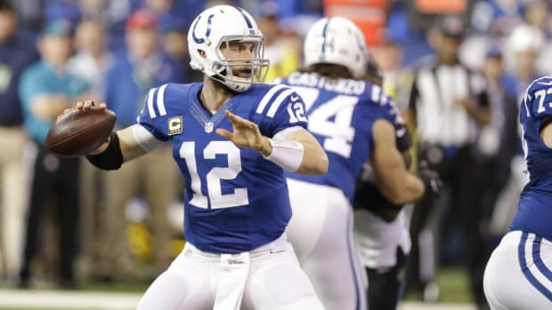 Andrew Luck Out Week 1, Scott Tolzien to Start for Colts vs. Rams - IMAGE