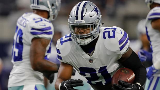 Report: Ezekiel Elliott to Play in Week 1 vs. Giants--IMAGE