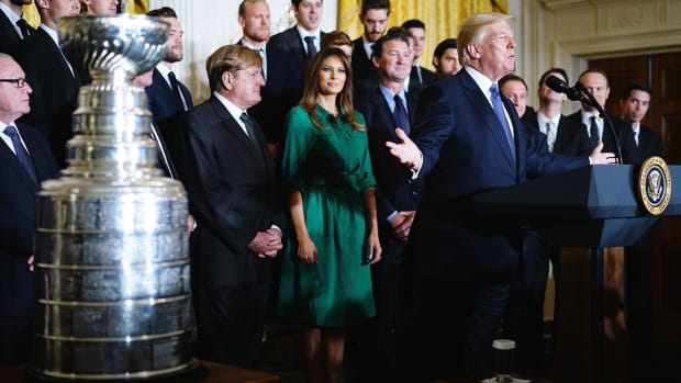 Pittsburgh Penguins Visit White House, President Trump--IMAGE