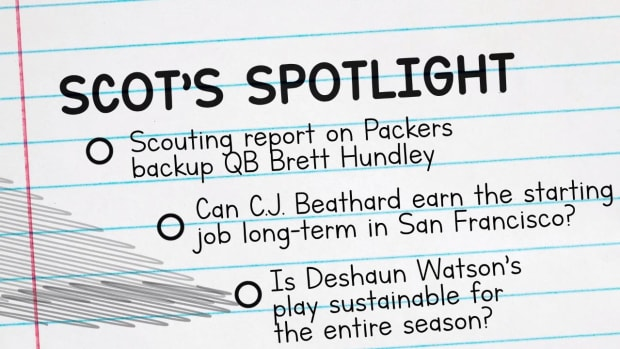 Former GM Scot McCloughan Gives His Scouting Report on Packers QB Brett Hundley - IMAGE