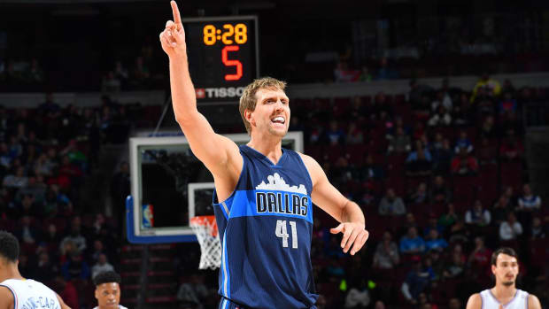Report: Dirk Nowitzki, Mavericks finalizing new two-year, $10 million contract - IMAGE