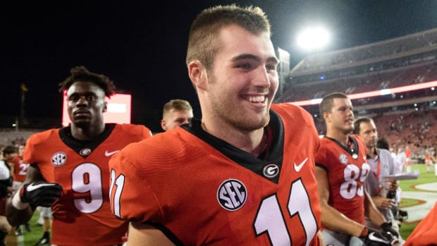 Freshman Quarterback Jake Fromm to Start for Georgia Against Notre Dame - IMAGE