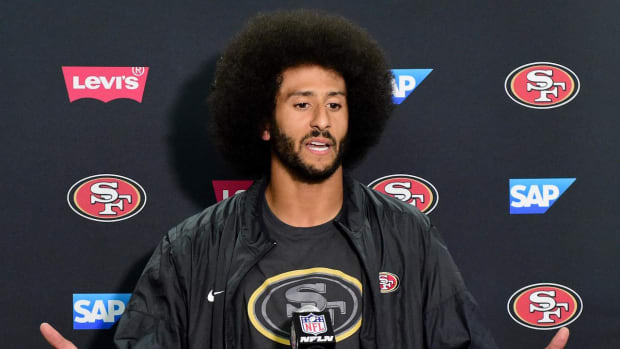 Colin Kaepernick helps raise awareness to suffering in Somalia--IMAGE