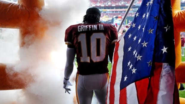 Robert Griffin III on Redskins: I Was Drafted To A Team That Wasn't Sold On Me - IMAGE
