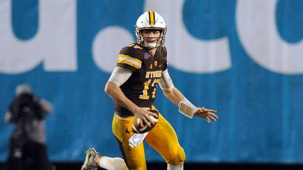 Wyoming QB Josh Allen To Enter 2018 NFL Draft--IMAGE