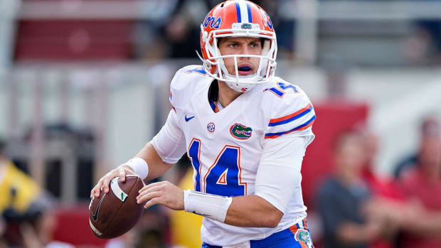 Florida QB Luke Del Rio Out for Season with Shoulder Injury - IMAGE