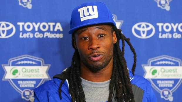 Giants Suspend Janoris Jenkins After Returning Late From Bye Week - IMAGE