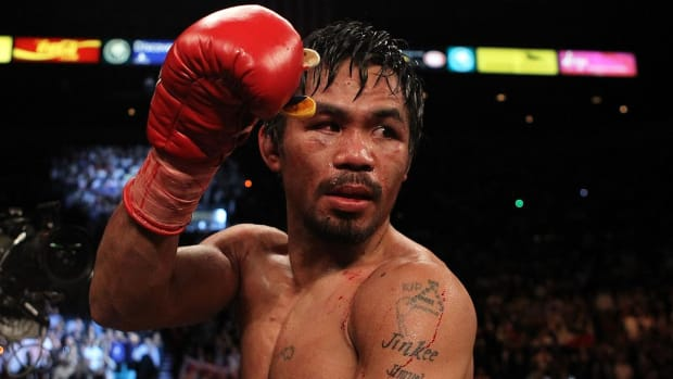 Manny Pacquiao: Mayweather-McGregor fight 'could be very boring' - IMAGE