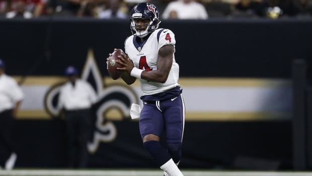 Deshaun Watson To Start For Texans In Week 2--IMAGE