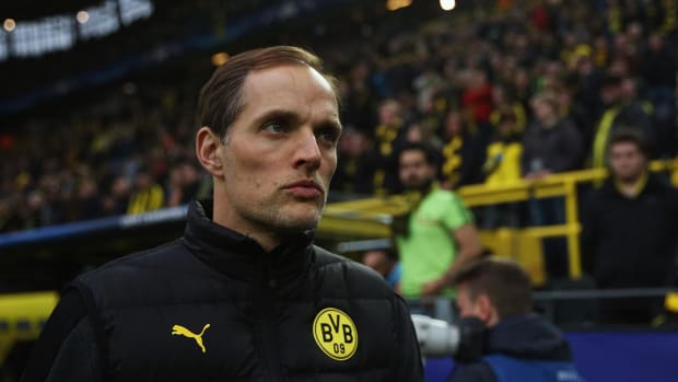 Dortmund manager Thomas Tuchel upset with UEFA's handling of bus attack IMAGE