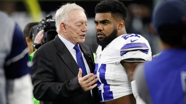 Jerry Jones: No Evidence of Domestic Violence in Ezekiel Elliott Case - IMAGE