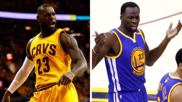 LeBron James says he didn't start superteams - IMAGE