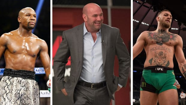 Dana White: Mayweather vs. McGregor would be a boxing match - IMAGE