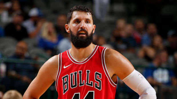 Bulls' Mirotic Out Indefinitely After Fight With Teammate Bobby Portis--IMAGE