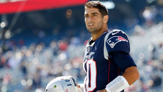 Patriots Trade Jimmy Garoppolo to 49ers--IMAGE