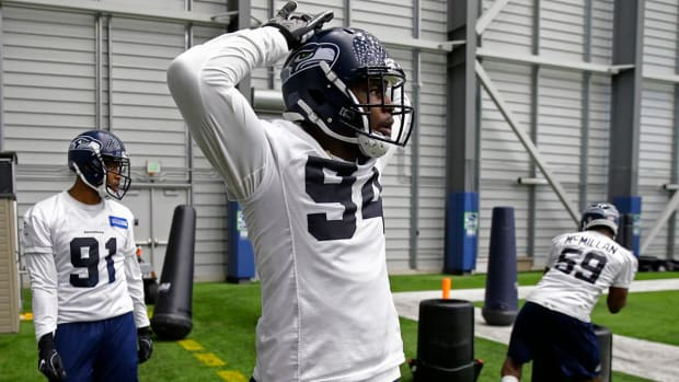 Seahawks Rookie Malik McDowell Suffers Serious Injuries in ATV Accident - IMAGE