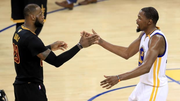 Kevin Durant: LeBron is 'My F---ing Idol'