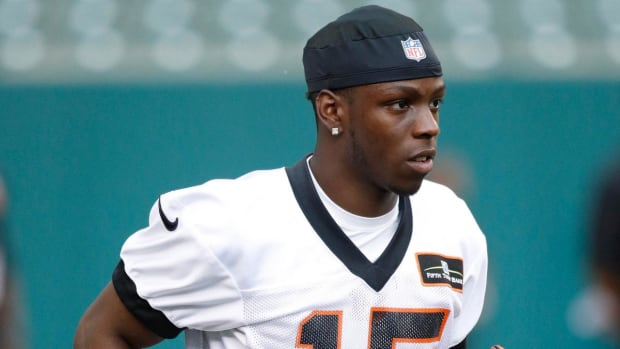 Bengals Place Rookie WR John Ross on IR With Shoulder Injury - IMAGE