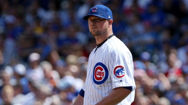 Cubs place LHP Jon Lester on 10-day disabled list  IMAGE