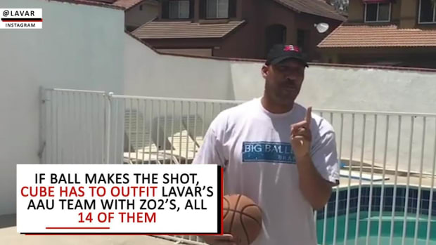 Ice Cube issues LaVar Ball a challenge--IMAGE