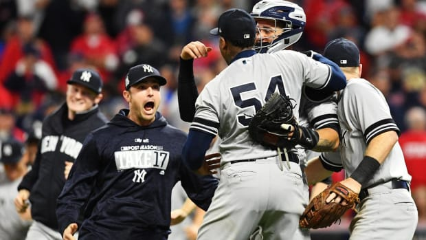 Didi Gregorius Homers Twice, Leads Yankees to ALCS With Win Over Indians - IMAGE