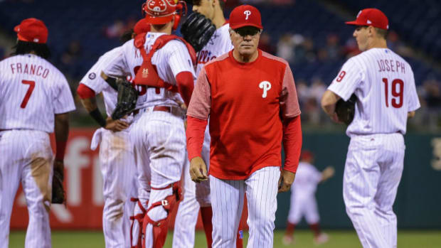 Pete Mackanin Will Not Return as Phillies Manger in 2018 - IMAGE