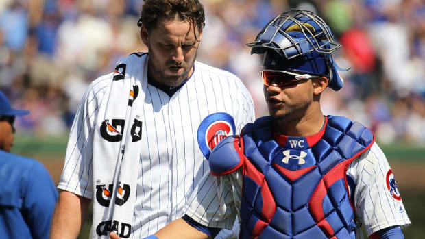 Cubs' Willson Contreras Suspended Two Games, Has Appealed--IMAGE