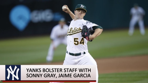 Yankees Acquire Sonny Gray From Oakland--IMAGE