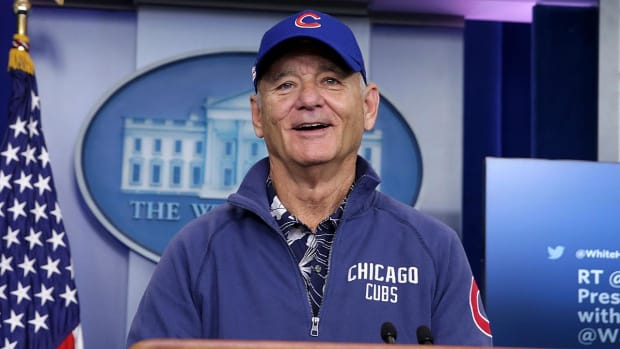Super Fan Bill Murray Could Play Joe Maddon in Upcoming Cubs Movie--IMAGE