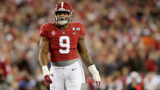 Alabama's Da'Shawn Hand Arrested for DUI--IMAGE