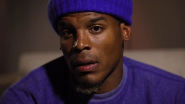 Cam Newton Apologizes for Comment to Woman Reporter - IMAGE