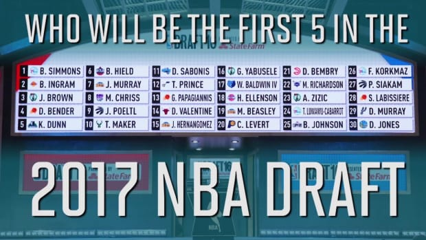 2017 NBA Mock Draft 1.0: Top five prospects - IMAGE