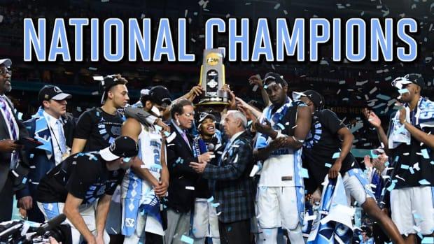 North Carolina beats Gonzaga for sixth national championship - IMAGE
