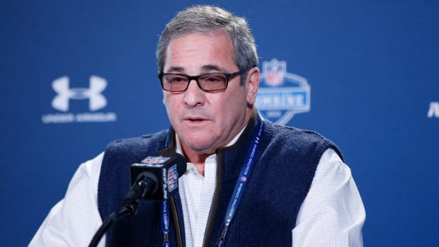 Relationship with veteran players is what led to Dave Gettleman's firing - IMAGE