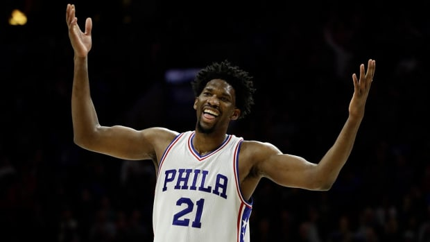 Should Embiid win Rookie of the Year? IMG