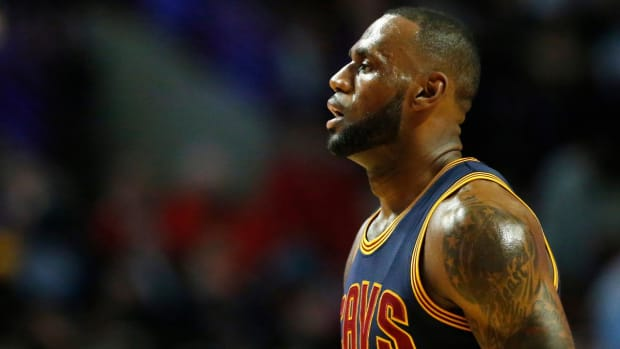 LeBron James now seventh on all-time scoring list, passes Shaq--IMAGE